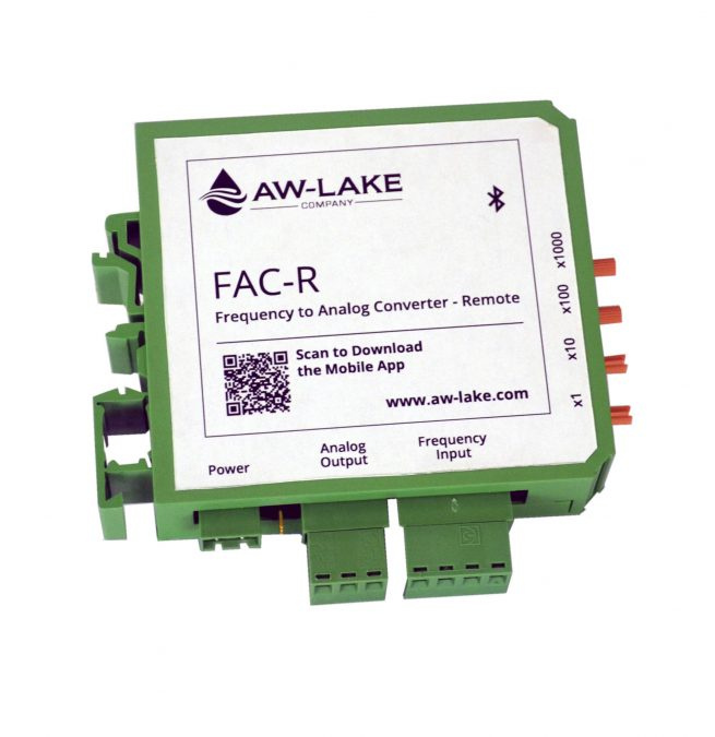 FAC-R Frequency to Analog Converter - with Bluetooth